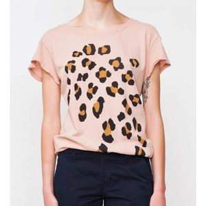 Wildfox Hippie Leopard Spots Crewneck Tee